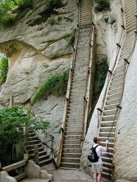 Mount Hua San, Shandong Province, China
