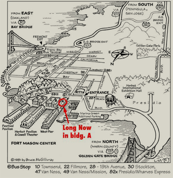 Fort Mason Local Map