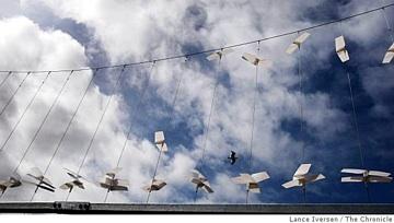 Wind-powered Lift Exhibit