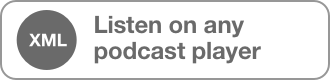 Listen on any podcast player