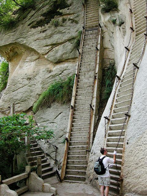 Mount Hua San, Shandong Province, China